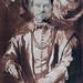 VAN DYCK Antoon,1625 - Portrait de Théodore van Thulden, Professeur à Louvain (Louvre INV19907) - Detail 01