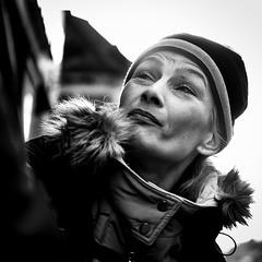 DSCF6727 (yann CM B) Tags: streetphotography blackandwhite oslo winter woman blackwhitepassionaward blackdiamond