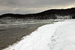 Winter am Binzer Strand (lt_paris) Tags: urlaubinbinz2018 binz rügen sandstrand schneestrand strand ostsee meer winter schnee