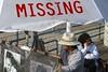 Missing (AntyDiluvian) Tags: california santamonica pier santamonicapier beach santamonicabeach santamonicastatebeach sketchartist umbrella missing