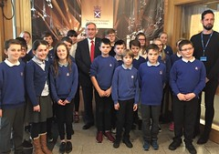 Second group of Kings Meadow pupils at Holyrood