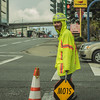 Traffic Controller (Photo Alan) Tags: vancouver canada vancouverdowntown vancouverstreet street streetphotography streetpeople people workingpeople traffic controller road