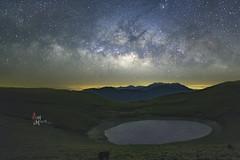 嘉明湖銀河 (Sam's Photography Life) Tags: ç´ milky way night galaxy 20mm f18 nikon d850 landscape 風景 南橫 台灣 銀河 星空 star 嘉明湖 天使的眼淚