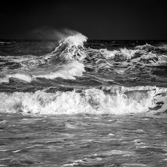_MG_8503 (L.P.M PHOTOGRAPHY) Tags: birds clouds sand dunes pier wall seascape speyside moray adventure travel 7dmkii canon blackwhite harbour harbor lossiemouth lossie north surge storm stormy beach landscape scotland sea sky ocean water wave