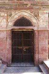 Qutub Minar (Door) (Mike Legend) Tags: india delhi minaret qutub qutb minar