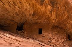 House on Fire (Nancy King Photography) Tags: ancientruins bearsearsnm canyon cedarmesa flaminghouse houseonfire manmade rocks utah