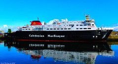 Scotland Greenock the ship repair dock the car ferry Clansman 26 March 2018 by Anne MacKay (Anne MacKay images of interest & wonder) Tags: scotland greenock ship repair dock caledonian macbrayne calmac car ferry clansman xs1 26 march 2018 picture by anne mackay
