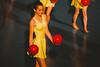 Vårgala Malmöflickorna 2011 (Thomas Ohlsson Photography) Tags: baltiskahallen malmöflickorna vårgalamalmöflickorna pentaxkx smcpentaxm75150mmf4 manualfocus manuallens vintagelens malmö yellow gymnastics redballs