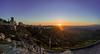 Sonnenuntergang über Enna - Sizilien (matthias_oberlausitz) Tags: enna sizilien sunset sonnenuntergang italien italy italia