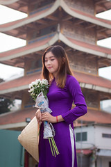 495 (A.P.VN) Tags: aodai portrait asian woman young sweet vintage