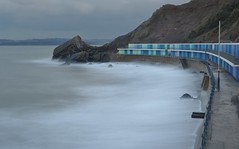 Meadfoot & Posh Huts (Better Living Through Chemistry37) Tags: meadfoot beaches longexposure landscapes torbay coast southwestcoastpath rocks beachhuts