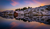 Lonely Cabin (Richard Larssen) Tags: richard larssen norway norge norwegen nature mirror reflection sony scandinavia sea seascape sunset sel1635gm fe1635 fe1635gm snow water winter a7riii golden hour cabin rogaland dalane egersund eigersund emount eigerøy eigeroy