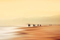 a walk.... (Eggii) Tags: viareggio iatly tuscany sea people bay