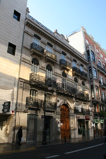 Edificio calle Roger de Lauria 22