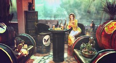 Lakeside (clau.dagger) Tags: drd decor furniture blueberry foxy insol catwa maitreya tentacio psychobits vespertine fameshedgo halfdeer dustbunny postapocalypse grunge secondlife
