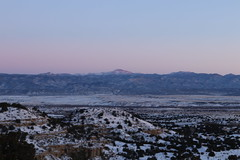 Good Morning Pikes (GroundpoundMedia) Tags: florence colorado pikes peak skies beauty natural cold morning