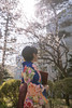 Young woman in hakama looking at plum blossoms after graduation ceremony (Apricot Cafe) Tags: img83506 asia asianandindianethnicities canonef2470mmf28liiusm japan japaneseethnicity japaneseculture kimono suginami tokyojapan achievement aspirations backlit buildingexterior capitalcities celebration ceremony colorimage cultures day diploma education formalwear garden graduation hakama happiness holding lensflare lifeevents lifestyles nature newlife onlyjapanese outdoors people photography plumblossom realpeople sideview springtime student success sunlight sunny traditionalclothing university universitystudent waistup women youngadult suginamiku tōkyōto jp