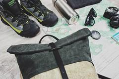 Backpack Adventure (f.michela1987) Tags: backpack zaino donna roll top borsa bag bags etsy calliphora
