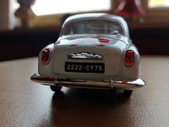 Simca Aronde Geneviève 1954 (Jack 1954) Tags: car ancêtre simca miniature