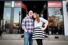 Rachel & Dave (21) (Brian Isemann) Tags: the creamery baltimore hampden fuji xt2 xt20 engagement