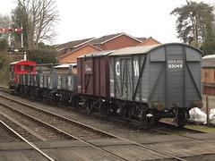 IMG_8212 - Goods Wagons (SVREnthusiast) Tags: severnvalleyrailway svr severnvalley severn valley railway gwrv16minkagoodsvan93045 gwr v16 minka goodsvan 93045