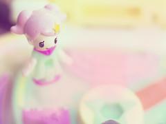 Pastel Life 🌈 (Jam-Gloom) Tags: olympus olympusuk olympusomdem5 olympusomd omdem5 macro 60mmmacro 60mm28 60mmmacro28 miniature miniatures pollypocket mylittlefairy twinklepact fairykei kawaii cute japanesetoys japanesetoy compacthouse bandaitwinklepact twinklepactidolwink idol wink