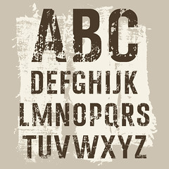 Grunge Letters vector set (Elizabeth Horton) Tags: grunge alphabet vector stain grungy font element textile letter paint typography spray graffiti set type design texture text abc urban dirty symbol letterpress halftone