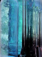 blue glass (Ani Carrington) Tags: macromondays blue jars glass macro