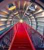 Back to 1958 (rudi.verschoren) Tags: brussels belgium landmark architecture old stair light colors artistic europe eos europa effect yellow red blue outdoor indoor pittoresque lines long lights mood exposure contrast art standing photos