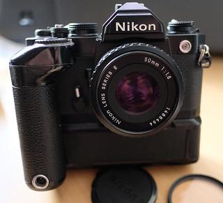 Nikon FM & MD12
