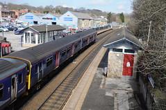 Arriva Rail North 150218 (with 150106) 2C26 1129 Leeds - York.  Horsforth.  29th March 2018 (Ajax46.) Tags: 150106 horsforth arrivarailnorth 29thmarch2018 150106stillingwrlivery 2c261129leedsyork 150218trailing