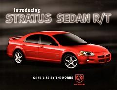 2004 Dodge Stratus Sedan R/T (aldenjewell) Tags: 2004 dodge stratus sedan rt brochure