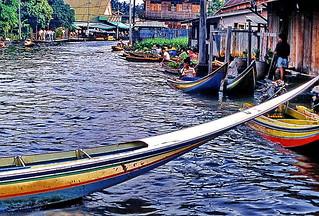 Bangkok Klongs Longtail Boat