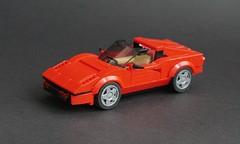 Lego 1979 Ferrari 308 GTS - 01 (Jonathan Ẹlliott) Tags: ferrari ferrari308 ferrari308gts 308gts magnumpi lego legomoc speedchampions vehicle