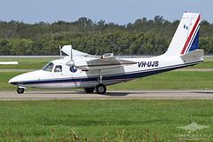 VH-UJS AERO COMMANDER 500S GAM AIR (QFA744) Tags: vhujs aero commander 500s gam air