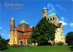 postcard - from frewen, Germany (Jassy-50) Tags: postcard postcrossing hildesheim germany stmichaelschurch church unescoworldheritagesite unescoworldheritage unesco worldheritagesite worldheritage whs