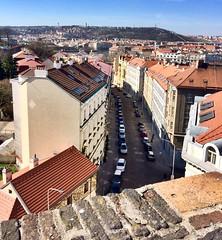 Vysehrad, Prague (Prague In Four Seasons) Tags: prague buildings vysehrad view architecture skyline urban photo road building city landscape