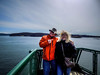 Houston and Laura on the Ferry-001 (RandomConnections) Tags: anacortes ferry fridayharbor lopezisland orcasisland sanjuanislands shawisland washington washingtonstate washingtonstateferry