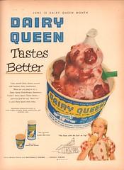 1953 Dairy Queen Advertisement Life Magazine June 15 1953 (SenseiAlan) Tags: 1953 dairy queen advertisement life magazine june 15