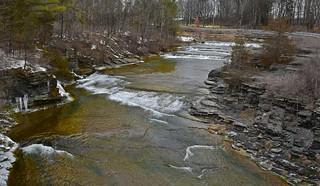 Photo#80-Upper Taughannock Falls, Ithaca NY