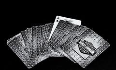 Ace of Spades (David Feuerhelm) Tags: blackandwhite monochrome bw schwarzundweiss noiretblanc contrast nikkor cards letters writing ace aceofspades a nikon d750 2470mmf28 silverefex lemmy