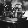 Teapots at the temple (jasoncremephotography) Tags: film analog planar 110mm zeiss hasselblad 203fe hasselblad203fe blackandwhite monochromr mediumformat hp5 ilford selfdevelopment hc110b
