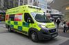 West Midland Ambulance 4620 (photobobuk - Robert Jones) Tags: ambulance emergency 999 4620 highstreet birmingham city centre health public safety westmidlands uk