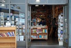browsing (BehindBlueEyes) Tags: california ca sf sanfrancisco urban cradical bookstore bookpassage