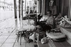 Fixing (D. R. Hill Photography) Tags: bangkok thailand asia southeastasia street streetphotography blackandwhite monochrome urban city people contax contaxg1 g1 carlzeissplanar35mmf2 planar 35mm 135 35mmfilm kentmere400 ilford film analog