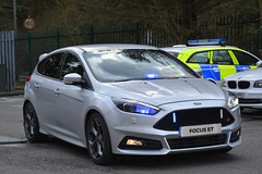 Unmarked Traffic Car (S11 AUN) Tags: south wales police swp heddludecymru ford focus st anpr unmarked traffic car rpu roads policing unit 999 emergency vehicle