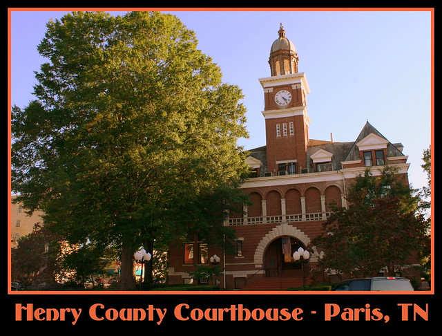 Henry County Courthouse - Paris, TN