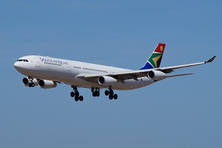 ZS-SXF South African Airways Airbus A340-313