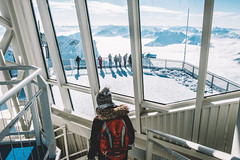 Visiting the Top of Germany (Elmar Bajora Photography) Tags: bavaria bayern berg deutschland europa europe gapa garmisch partenkirchen garmischpartenkirchen gebirge germany mountain mountains snow top white winter zugspitze topofgermany ehrwald tirol austria