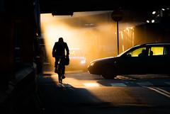 Stockholm, March 20, 2018 (Ulf Bodin) Tags: street sun urban sverige hamngatan smoke biker canonefm55200mmf4563isstm stockholm streetphotography sweden outdoor shadows canoneosm3 sergelstorg urbanlife stockholmslän se